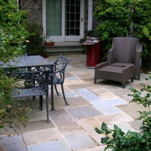 Mortared Flagstone patio in Bethlehem